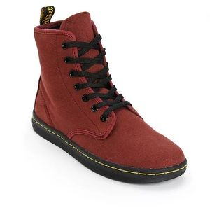 Dr. Marten 7 Yey Boots SZ 6 Shoreditch Canvas NWB